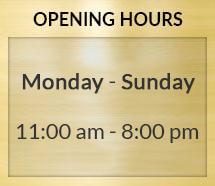 Rami Jabali Opening Hours Update 2019